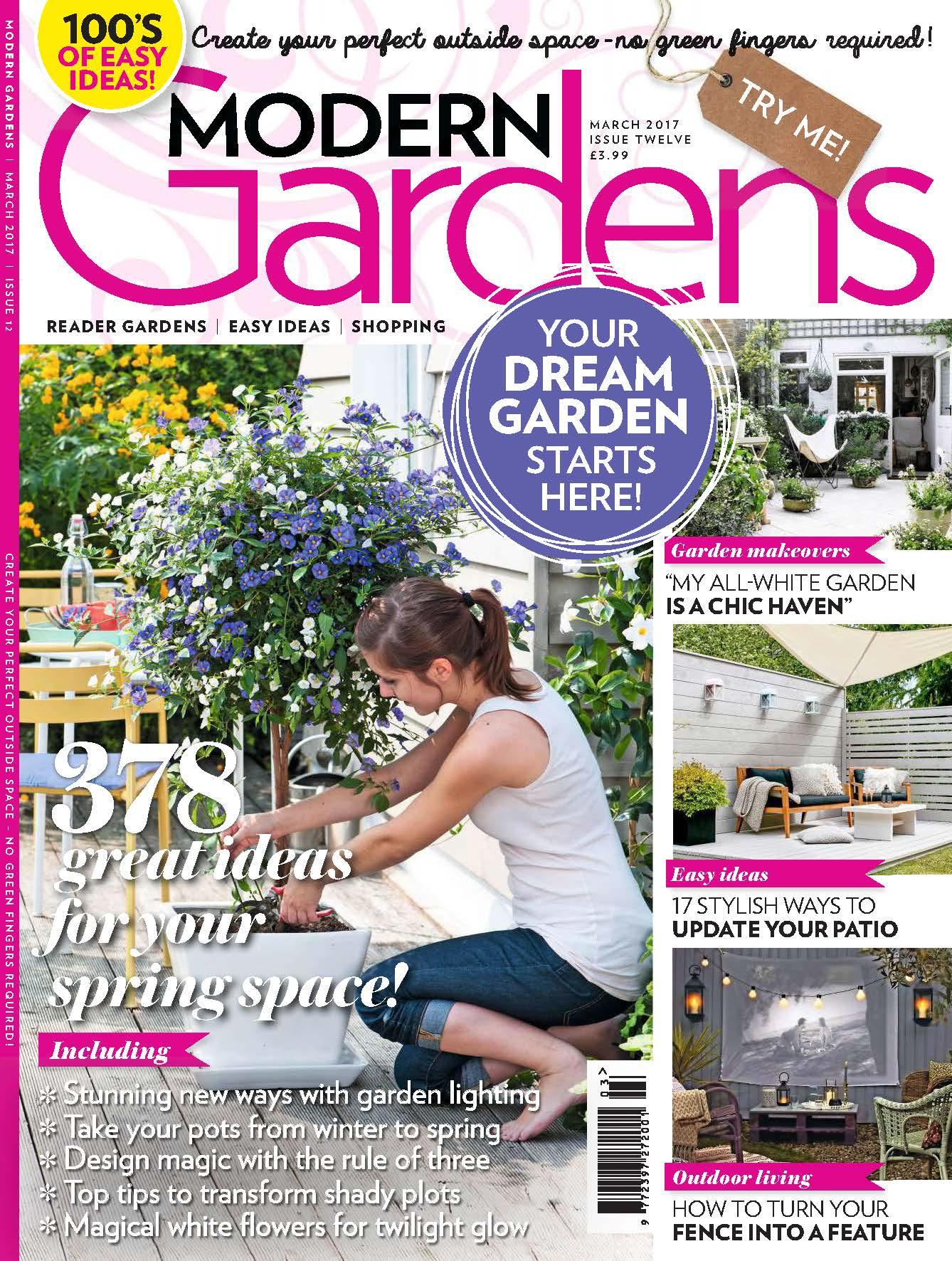 Modern Garden March 2017