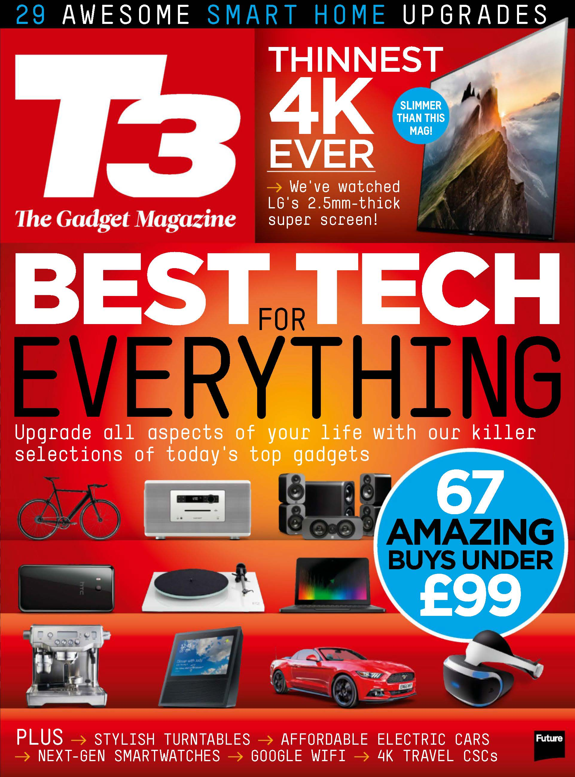 T3 UK Issue 270 July 2017 cover