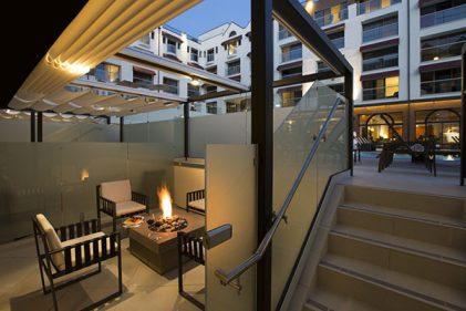 Poolside Cabana Loews Hotel Santa Monica
