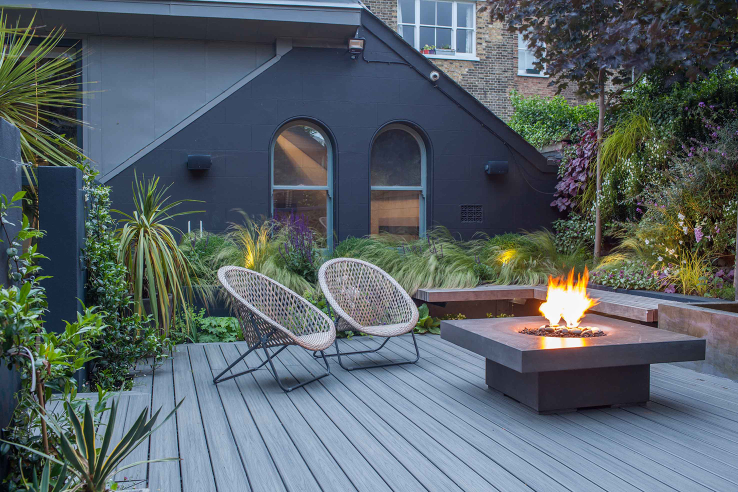 Solus decor gas fire pit