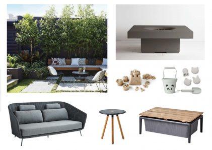 Caneline furniture board